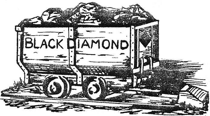 Coal Mining Drawings The Black Diamond Mining