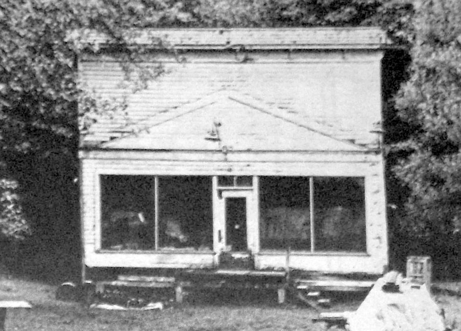 One Of Maple Valleyu0027s First Stores, Once Well Stocked And Standing Where  The Maple